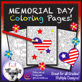 Memorial Day Coloring Pages!
