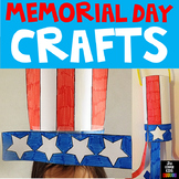 Memorial Day, Uncle Sam Craft, Fourth of July, Flag Day