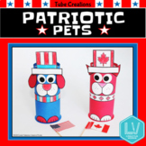 Memorial Day Craft Flag Day Craft - Patriotic Pets
