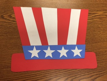 Memorial Day Craft (Uncle Sam Hat Craft)