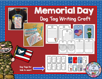 Memorial Day Craft and Writing