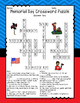 Memorial Day Crossword Puzzles