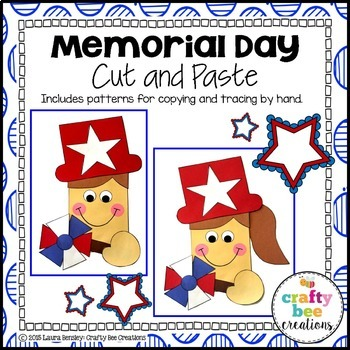 Memorial Day Cut and Paste