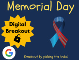 Memorial Day - Digital Breakout! (Escape Room, Scavenger Hunt, Brain Break)