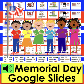 Memorial Day Distance Learning For Google Slides