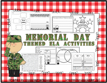 Memorial Day ELA Activity Packet