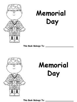 Memorial Day Easy Reader