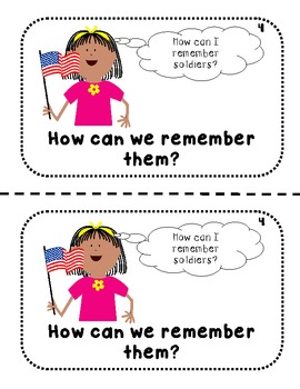 Veterans Day {Emergent Reader}