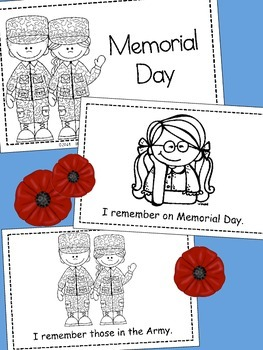 Memorial Day Emergent Reader {Build Your Own}