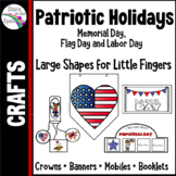 Labor Day Activities, Flag Day and Memorial Day - Crowns,