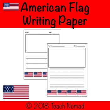 American flag writing paper how to write a introduction paragraph for a research paper