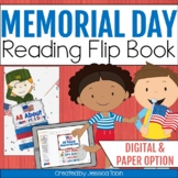 Memorial Day Activities, Memorial Day Flip Book