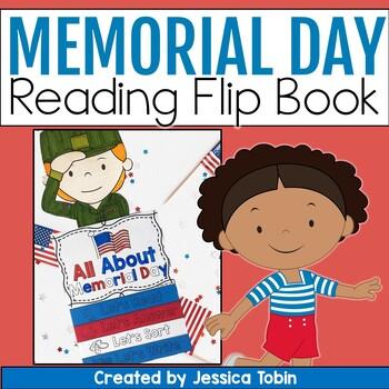 Memorial Day Activities Memorial Day Flip Book Tpt