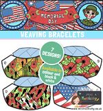 Memorial Day Friendship Bracelets