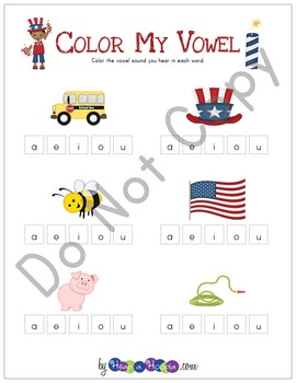 Memorial Day Games and Activities for Kindergarten, First and Second Grades