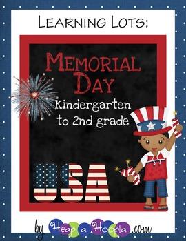 Memorial Day Games and Activities for Kindergarten, First