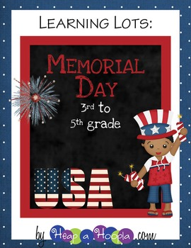 Memorial Day Games and Activities for Third Fourth and Fifth Grades
