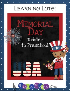 Memorial Day Games And Activities For Toddler And Preschool By Heap