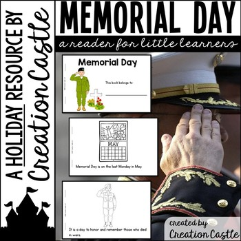 Memorial Day Guided Reading Book