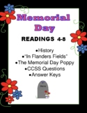 Memorial Day Civil War World War I In Flanders Fields Readings