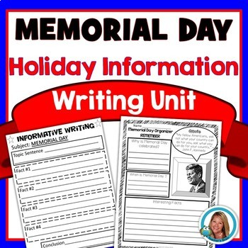 Memorial Day WRITING Unit End of the Year