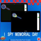 Memorial Day I Spy Bundle Visual Memory Games
