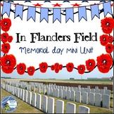 Memorial Day In Flanders Fields Mini Unit