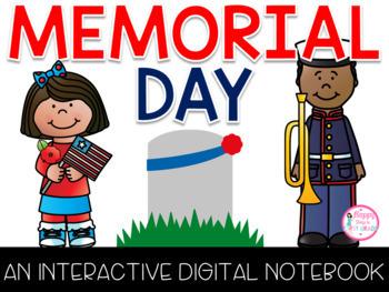 Memorial Day Interactive Digital Notebook {PRINT & DIGITAL}