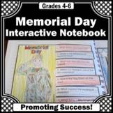 Memorial Day Craft Activity, Social Studies Interactive Notebook