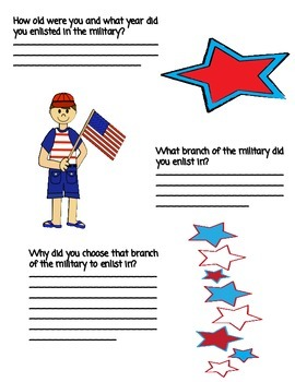 Memorial Day Interview Packet