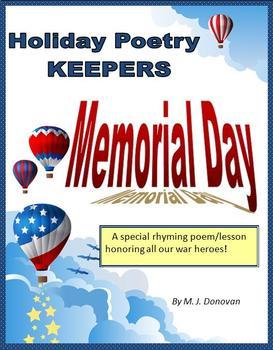 Memorial Day Keepers poem