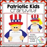 Patriotic Kids Craft {Memorial Day or 4th of July Kids}