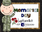 Memorial Day Lapbook - Grades 3 - 5 { 9 foldables! }