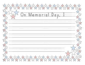 Memorial Day Lesson