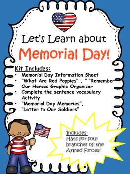 Memorial Day Lessons and Activities
