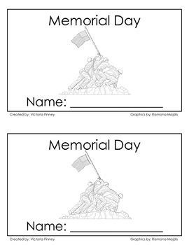 Memorial Day Little Reader