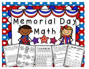 Memorial Day {Math Printables}