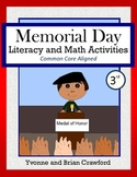 Memorial Day Math and Literacy Activities Third Grade Common Core