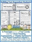 Memorial Day May Themes & More Close Reading Google Slides™ & PDFs