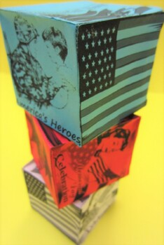 Veterans Day Craft Box - Memorial Day Craft Box