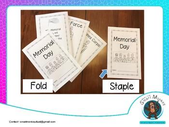 Memorial Day -Mini Book-