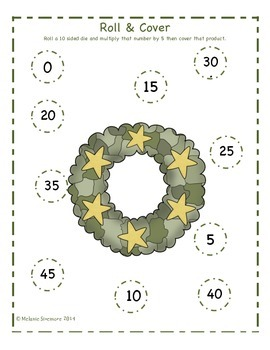 Memorial Day Multiplication Roll and Cover