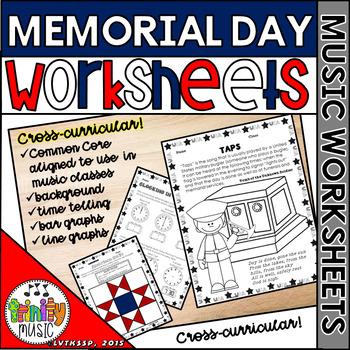 Memorial Day Music Worksheets By Trinitymusic Teachers Pay Teachers