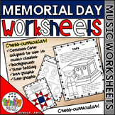 Memorial Day Music Worksheets