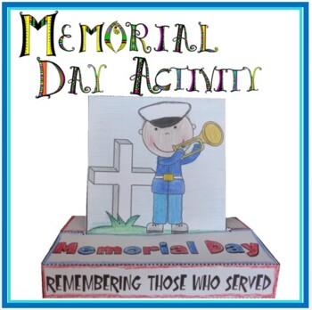 Memorial Day POP-UP Craftivity