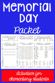 Memorial Day Packet