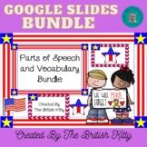 Memorial Day Parts of Speech and Vocab Google Slides Bundle 2nd 3rd Grade
