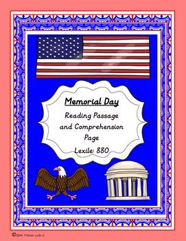 Memorial Day Passage- Free!