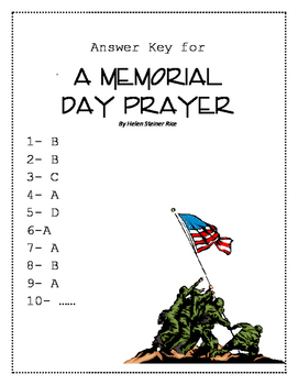 Memorial Day Poem and Quiz