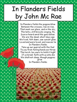 Veterans Day- The poems of soldiers about war